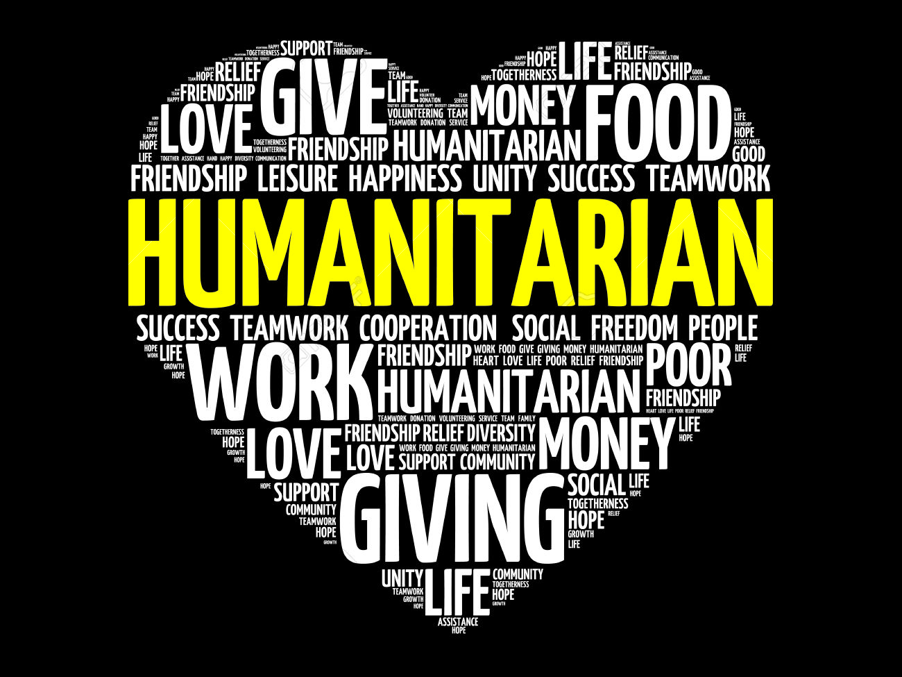45100782-Humanitarian-word-cloud-heart-concept-Stock-Vector